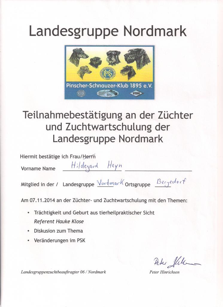 Züchterschulung 11-14025
